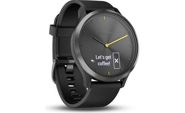 Garmin vivomove® HR Smart notifications when paired with your smartphone.