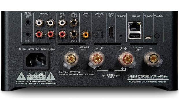 NAD Masters Series M10 Back