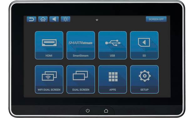 Voxx AVXSB10UHD Voxx gives you touchscreen control over a variety of sources