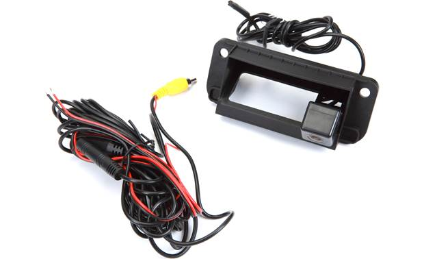 Crux CMB-16K Crux builds this rear-view camera into a vehicle-specific replacement trunk handle