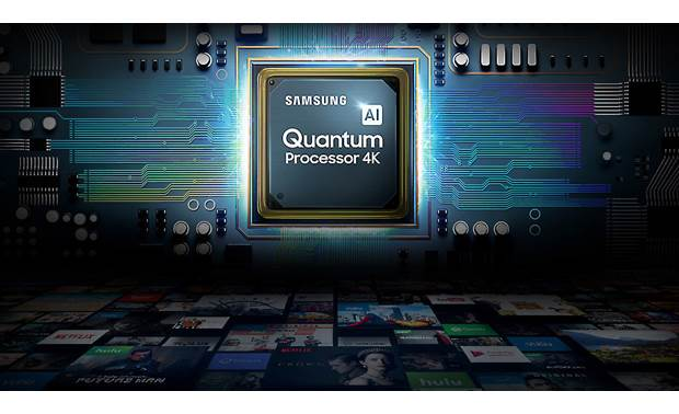 Samsung QN43Q60R Quantum Processor 4K improves contrast, shadow detail, and color accuracy