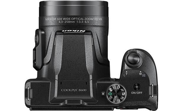 Nikon Coolpix B600 Top