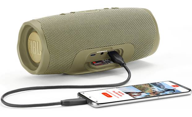 JBL Charge 4 Sand - recharge your smartphone (smartphone and cable not included)