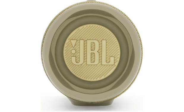 JBL Charge 4 Sand - side-firing passive bass radiators
