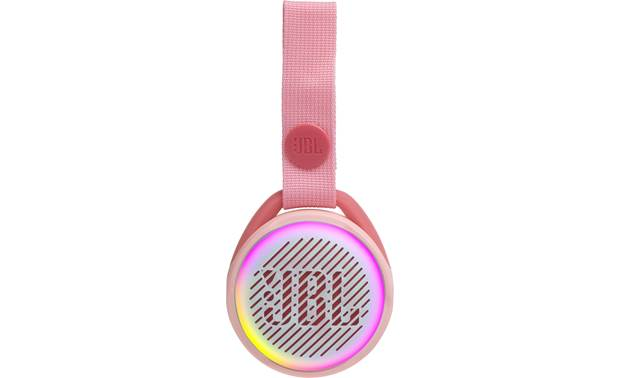 JBL JR POP Rose Pink - built-in multi-color LED lights