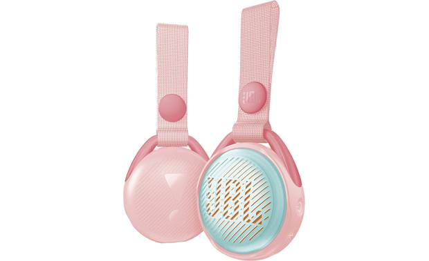 JBL JR POP Rose Pink - front and back views