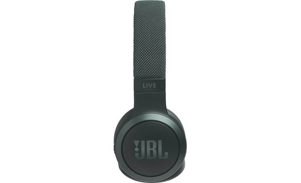 JBL Live 400BT Tap the left earcup to access Google Assistant or Amazon Alexa through your phone