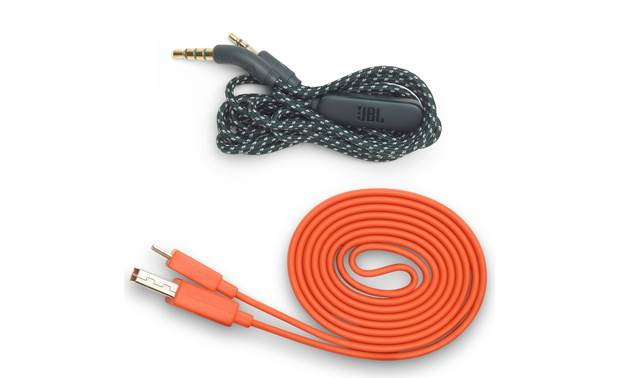 JBL Live 400BT Supplied USB an 3.5mm audio cables