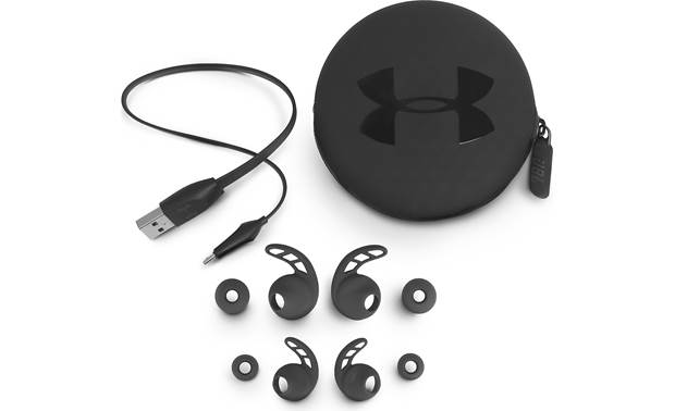 Under Armour® Sport Wireless PIVOT — Engineered by JBL Included accessories