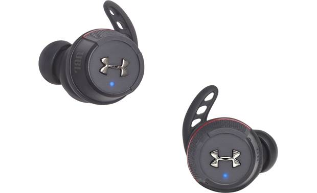 Under Armour® True Wireless Flash — Engineered by JBL Waterproof, 100% wire-free workout earbuds