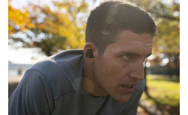 Under Armour® True Wireless Flash — Engineered by JBL IPX7-rated sweat- and waterproof
