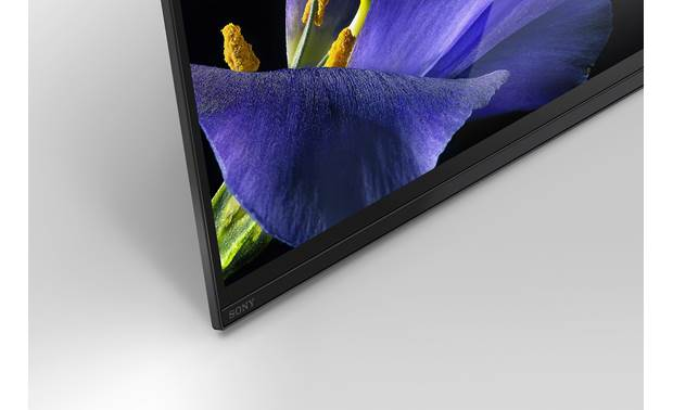 Sony MASTER Series XBR-65A9G Close-up view of bezel
