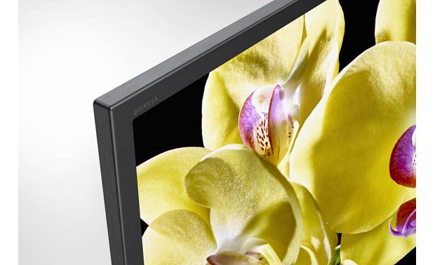 Sony XBR-75X800G Close-up view of bezel