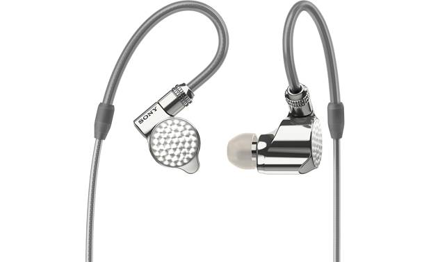 Sony IER-Z1R Sony's flagship in-ear headphones tuned for wide-open sound with precise stereo imaging
