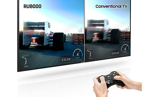 Samsung UN49RU8000 This TV's high-contrast picture and low input lag are great for gaming