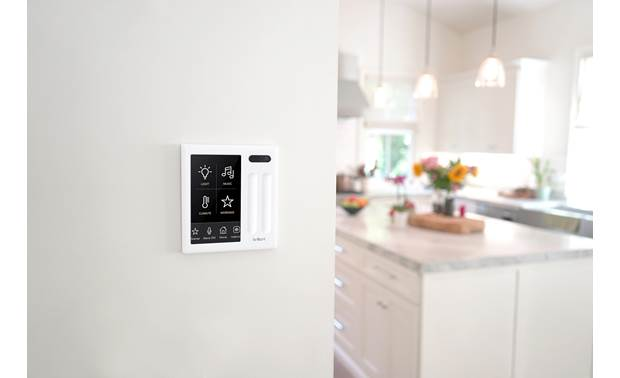 Brilliant Smart Home Control Built-in Amazon Alexa offers clutter-free, hands-free control of your smarthome