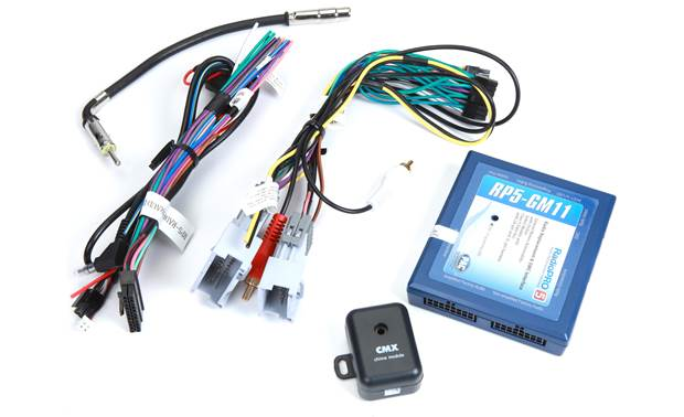 [SCHEMATICS_49CH]  PAC RP5-GM11 Wiring Interface Connect a new car stereo and retain OnStar®,  factory amp, and steering wheel audio controls in select 2000-up GM  vehicles at Crutchfield | Denali Audio Wiring |  | Crutchfield