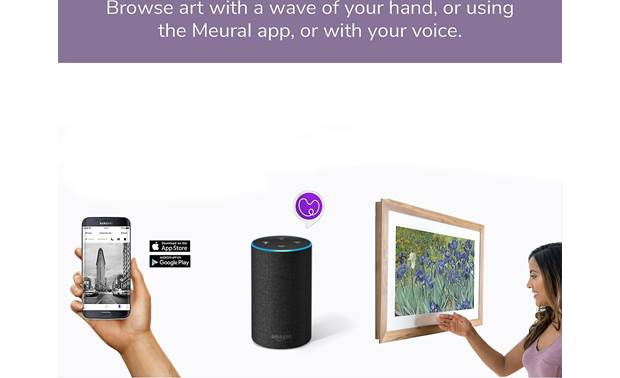 Meural Canvas — Powered by NETGEAR There are multiple ways to control the Canvas