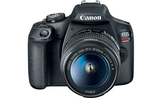 Canon EOS Rebel T7 Kit Angled front view