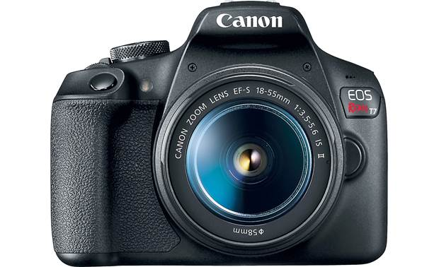 Canon EOS Rebel T7 Kit Front, straight-on
