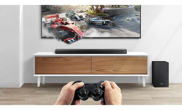 Samsung HW-R550 Game Mode boosts game sound effects