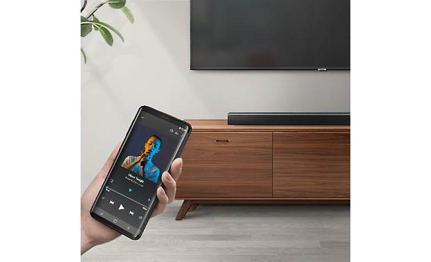 Samsung HW-R550 Wirelessly stream music from your smart device to the sound bar via Bluetooth