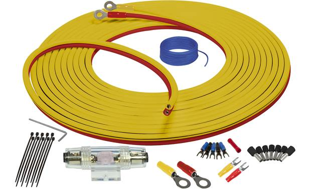 Stinger SEA4247 4-gauge amp wiring kit