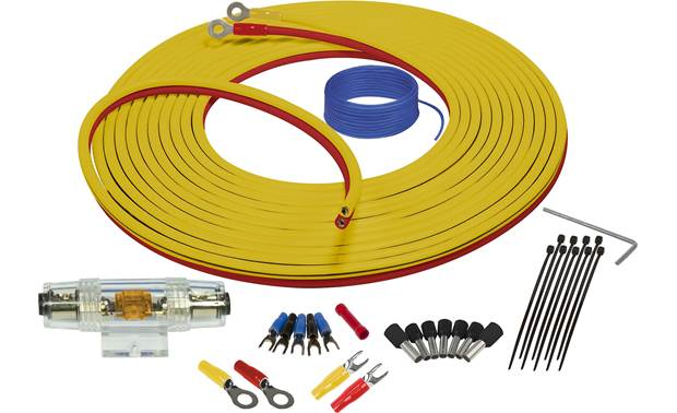 Stinger SEA4287 8-gauge amp wiring kit