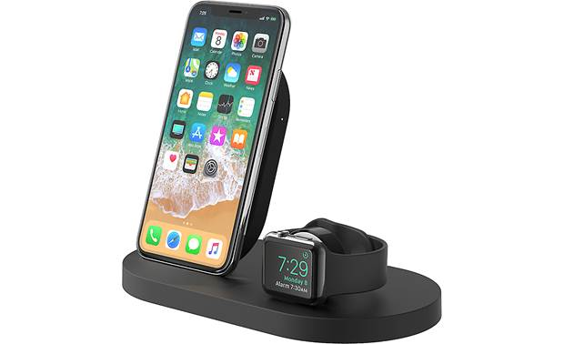 Belkin BOOST↑UP™ Wirelessly charge your iPhone and an Apple Watch, along with a third wired USB device (phone and watch not included)