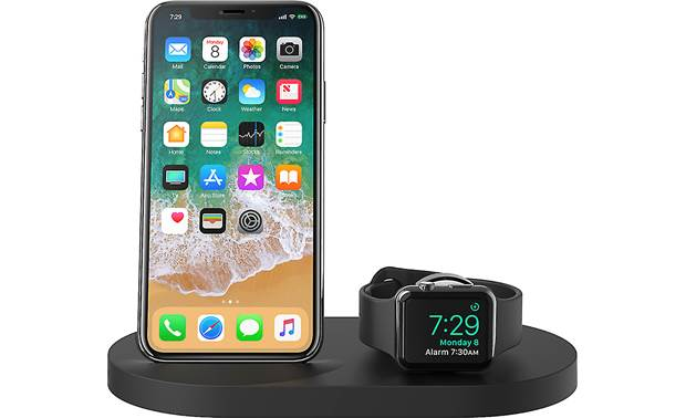 Belkin BOOST↑UP™ Shown with iPhone and Apple Watch (not included)