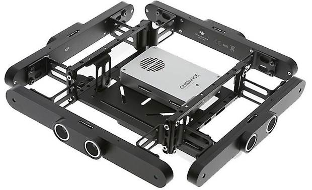 DJI Guidance System Shown with model-specific mounting brackets (not included)