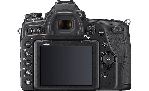 Nikon D780 Zoom Lens Kit Back-panel controls and display