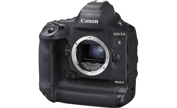 Canon EOS-1D X Mark III Shown with body cap removed