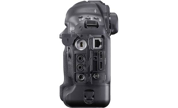 Canon EOS-1D X Mark III Side-panel connections