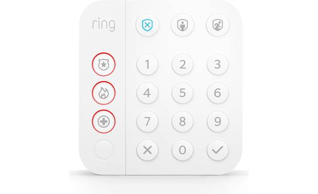 Ring Alarm Keypad (2nd Generation) Front