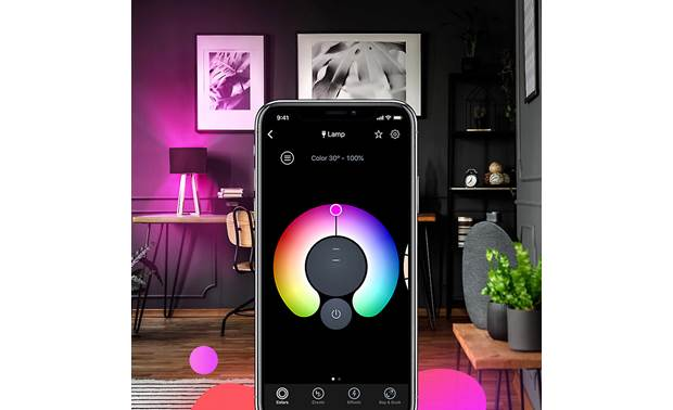 LIFX A19/E26 Bulb The app lets you dial in exactly the right color and brightness level
