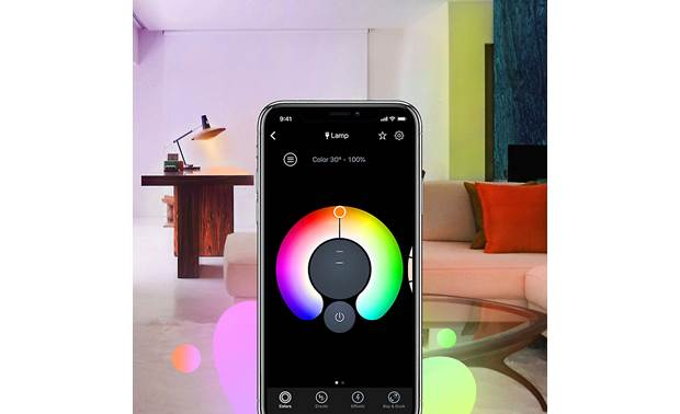 LIFX BR30/E26 Bulb The app lets you dial in exactly the right color and brightness level