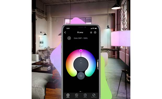 LIFX Mini Color 4-Pack The app lets you dial in exactly the right color and brightness level for each bulb