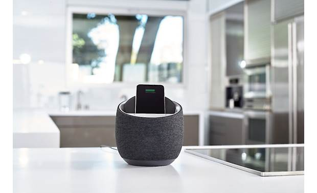 Belkin SOUNDFORM™ ELITE Hi-Fi Smart Speaker + Wireless Charger Enjoy rich, spacious sound (smartphone not included)