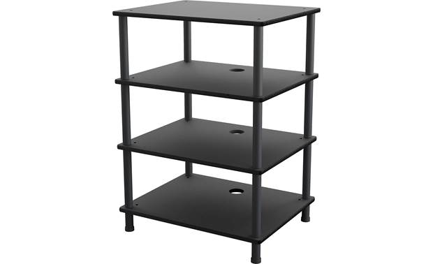 AVF Four Shelf Audio Stand (AKS604BB-A) Front