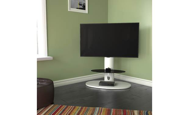 AVF Chepstow Affinity Plus Oval shape fits snugly in corners (TV and components not included)
