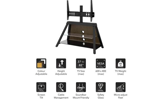 AVF Options Easel TV Stand (EASL925A) Feature set