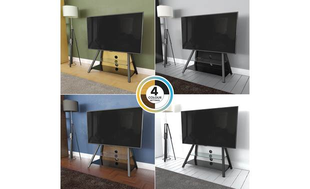 AVF Options Easel TV Stand (EASL925A) Four interchangeable rear panels included