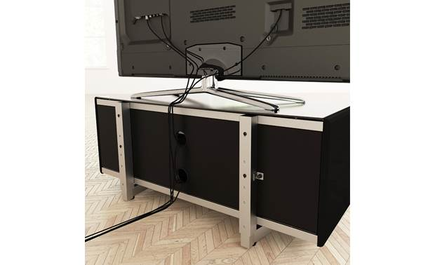 AVF Options Portal TV Stand 1000 (PRT1000A) Rear panel openings for cable management