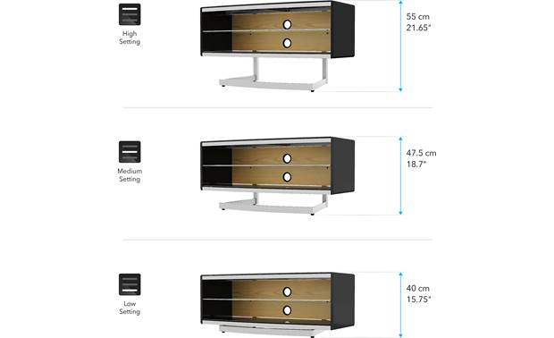 AVF Options Portal TV Stand 1000 (PRT1000A) Adjustable height