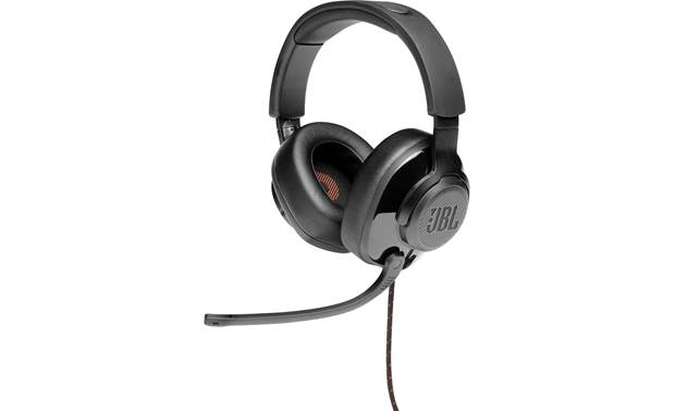 JBL Quantum 200 Lightweight, closed-back headset with attached boom microphone