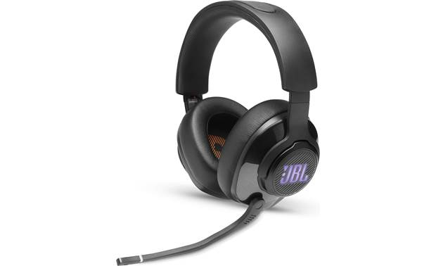 JBL Quantum 400 Lightweight, closed-back headset with attached boom microphone