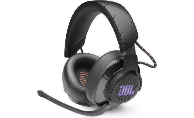 JBL Quantum 600 Closed-back wireless/wired headset with attached boom microphone