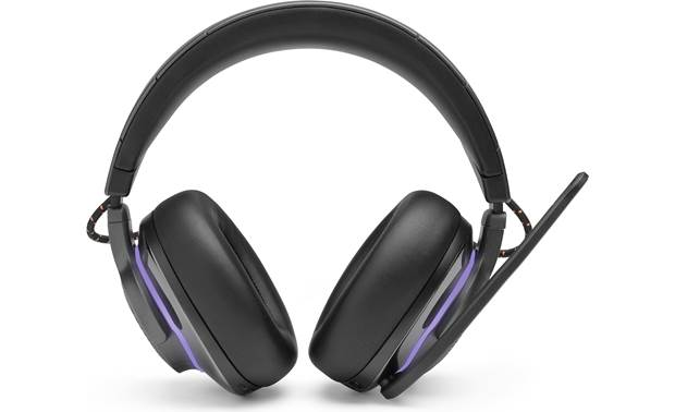 JBL Quantum 800 Extra-thick memory foam padding on headband and earcups
