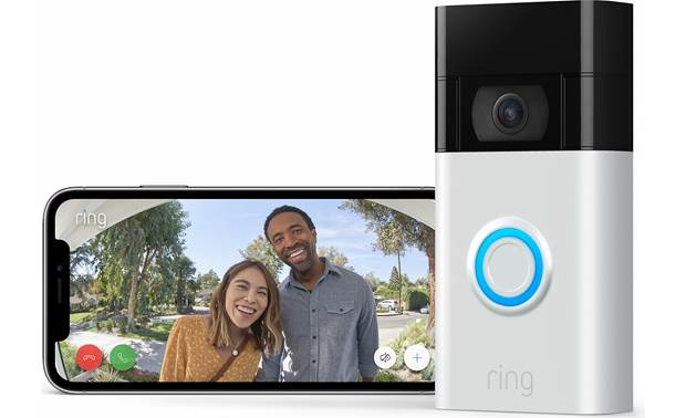Ring Video Doorbell (2020 Release) Get a 1080p view of your door from wherever you are